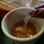 北野家本店 - 蕎麦湯