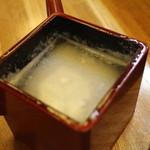 手打そば処 鼎 - 蕎麦湯