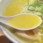 44230519 - しおラーメン(ストレート麺)750円