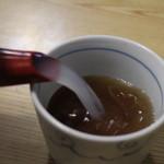 富蔵家 - 蕎麦湯