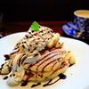 しおカフェ - 料理写真:バナナクリームパンケーキ