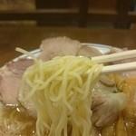 丸醤屋 - 2015年9月 醤油チャーシューメン 830円