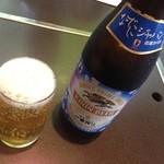 味喰笑 - H.27.5.17.昼 瓶ビール
