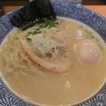 麺匠 清兵衛 - 味玉濃厚とりそば(870円)