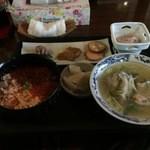 網元番屋 - 鮭いくら丼定食1200円