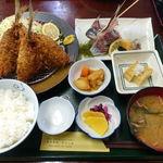 Izunosuke - あじ・アジ定食 980円
