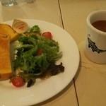 SHIROUZU COFFEE 警固店 - トーストセット520円