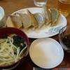 台菜 - 料理写真:ランチ・アグー餃子定食600円