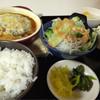 旨飯処のふうぞ - 料理写真:煮込みハンバーグ定食 600円
