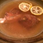 ゆるり屋 - 鯛柚子鍋