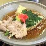 酸ヶ湯温泉旅館 - 2015 桜姫鳥のすき焼き