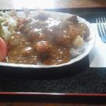 お食事処・味処 やまびこ - エビフライカレー(700円)
