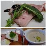 糀ナチュレ - *どのお料理も丁寧に作られています。 スープは少量ですけれど、食材の旨みを感じますね。他は普通かしら。