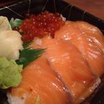 笹互 - 料理写真:親子丼・並盛り500円+税