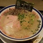 田中商店 - 2015.11時点の豚骨ラーメン