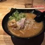 麺匠七福門 - 熟成味噌。
