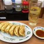 日高屋 - ハイボール+餃子