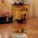 44242543 - 生ビールはアサヒスーパードライ450円がハッピーアワーで300円