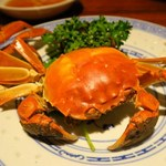 漢陽楼 - 蒸蟹(蒸し蟹)(雌)