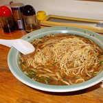川しん - 麺とスープのバランスはこんな感じ!