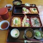 北のそば和佳亭 - カツ丼セット(茶碗蒸し付)@1,000円