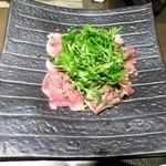 喰心-meat Dining- - 山形牛の焼きしゃぶ  肩ロース