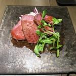喰心-meat Dining- - 山形牛内もも肉のローストビーフ