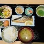 凜屋 - 朝食