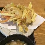 魚彦 - 野菜のかきあげ