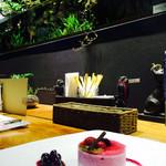 緑の星 - ケーキと水槽