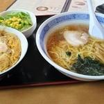 えぞいち - 料理写真:かつどんセット1080円