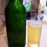 はるばるてい - 201511 ビール(550円)はハートランド中瓶