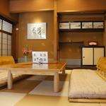 富士屋 花筏 - 純和室スペースもあります、外人客には人気ありそうですね