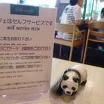 44249106 - パンダの人形で席を確保