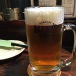 老緑酒蔵 - 201511 ビールは中ジョッキ450円と良心的