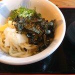 めん処・かわよし - 料理写真:ぶっかけ冷 550円