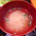 夢のつづき - 夢のつづき @日本橋兜町 大根の味噌汁