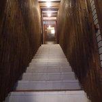炭々苑 - 階段