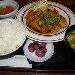 かがい - 豚生姜焼き定食