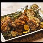 ムロマチカフェハチ - 地鶏のバロティーヌ