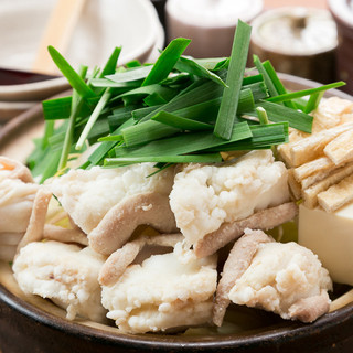 名物白味噌京風もつ鍋