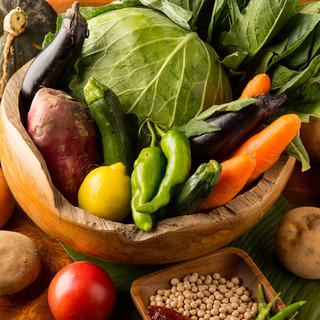 当店の野菜は自家栽培!