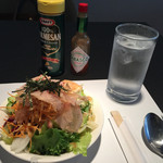 ホテルフォーシーズン徳島 - ランチのサラダ