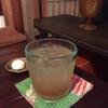 喫茶 苔 - ドリンク写真:自家製ジンジャーエール。夜になるとグラスがきれいに見えます