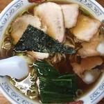 44255351 - 大チャーシュー麺(麺かた) 950円