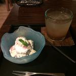 喫茶 苔 - いちごのマスカルポーネ和え