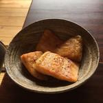 喫茶 苔 - 鮭のはらす焼