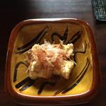 喫茶 苔 - クリームチーズの西京みそ漬