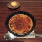喫茶 苔 - マロンのクレームブリュレ