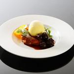 レザンドール - 料理写真:ブリオッシュのフレンチトーストバニラアイス添え